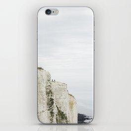Dover's white cliffs iPhone Skin