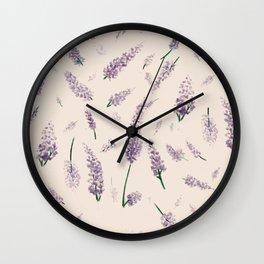 lavanda Wall Clock