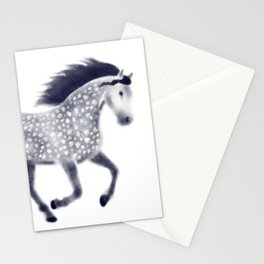 Dapple horse Stationery Cards