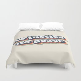 No Justice No Peace BLM 2020 Duvet Cover