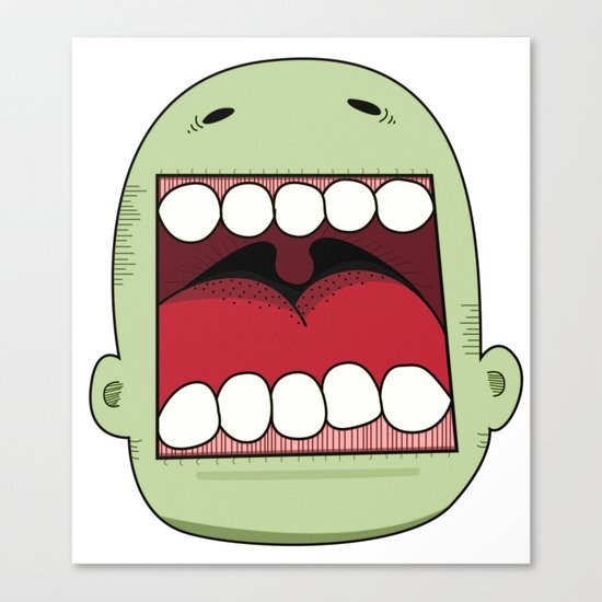 Loud Mouth Canvas Print