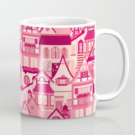 Pink Little Town Coffee Mug