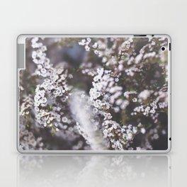 The Smallest White Flowers 01 Laptop & iPad Skin