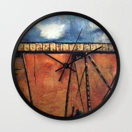 No Traffic on the Huey P Wall Clock