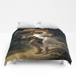 The Storm By Pierre Auguste Cot Comforters