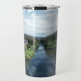View from a Bridge Travel Mug