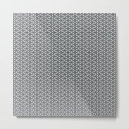 Geometric Flower Pattern 1 Metal Print
