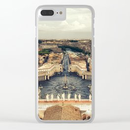 St. Peter's Square Clear iPhone Case