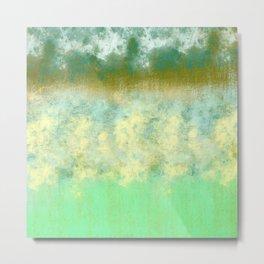 Blue and Greens Pastel Metal Print