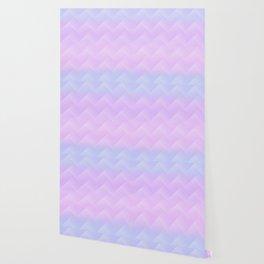 Chevron Candy floss Wallpaper