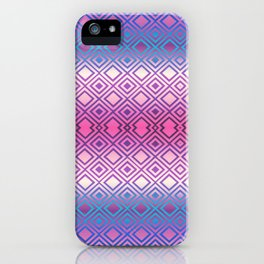 PINK GEOMETRY  iPhone Case