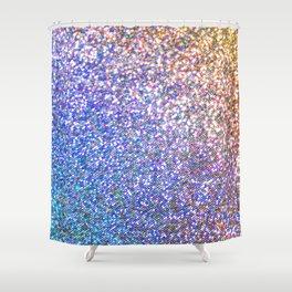 Glitter Rainbow Shower Curtain