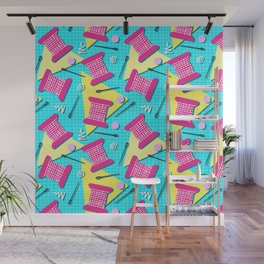 Memphis Sewing - Brights Wall Mural