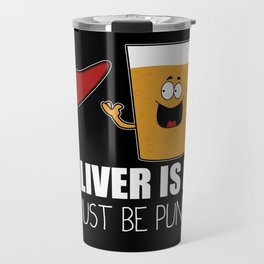 The Liver Is Evil and Must Be Punished Travel Mug