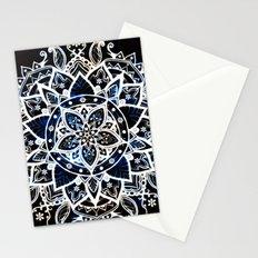 Radiant Zen Glowing Mandala Stationery Cards