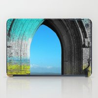portal iPad Cases featuring Portal by Tobias Bowman