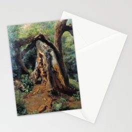 An Old Tree 1859 By Lev Lagorio | Reproduction | Russian Romanticism Painter Stationery Cards