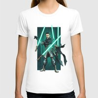 jedi T-shirts featuring Tesla - Jedi Consular by Salty!