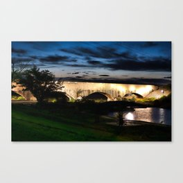 Carlsbad Flume at Dusk Canvas Print