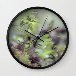 Diaphanous Veins Wall Clock