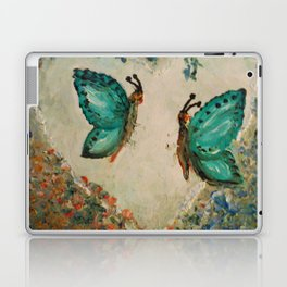 Whimsical Butterfly Love Laptop & iPad Skin
