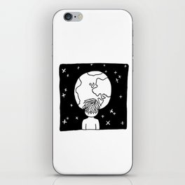 You cannot look upon the night sky and not wonder what it's like to be amongst the stars. iPhone Skin