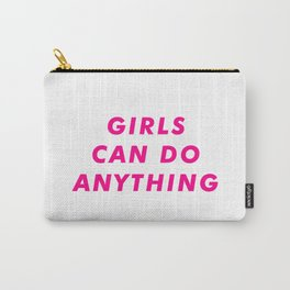 Girls Can DO Anything  Aesthetic Carry-All Pouch
