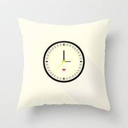 Braun watch Throw Pillow