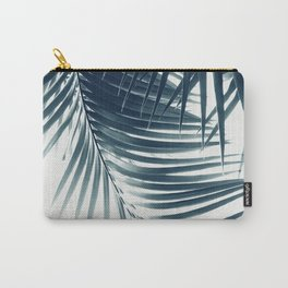 Palm Leaves Green Blue Vibes #2 #tropical #decor #art #society6 Carry-All Pouch