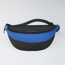Thin Blue Line - Back the Blue - Support for Heroes in the Police Department Fanny Pack
