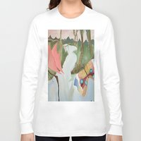 river Long Sleeve T-shirts featuring River by Valkyries