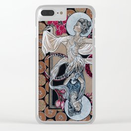 Birth and Growth Clear iPhone Case