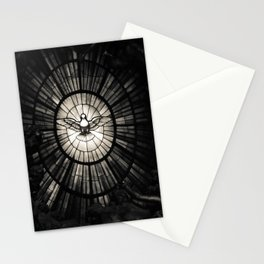 The Holy Spirit as a dove Stationery Cards