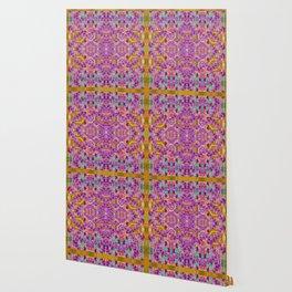 fantasy flower festoon garland of calm Wallpaper