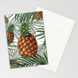 King Pineapple Stationery Cards