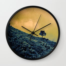 Lone Tree Hill Wall Clock