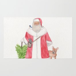 Father Christmas Rug
