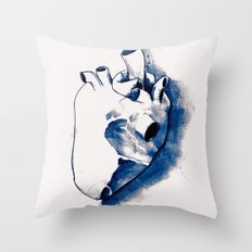 corazónB Throw Pillow