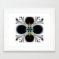 mod Framed Art Prints featuring mod by Maureen Popdan