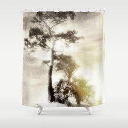 Deadly silence... Shower Curtain
