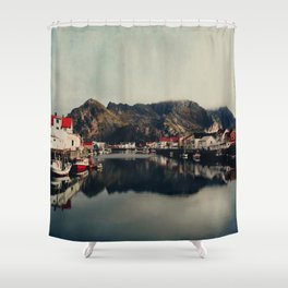 mountain life Shower Curtain