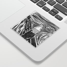 Ice Scream Sticker