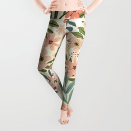Only from the heart can you touch the sky. Rumi Quote Leggings
