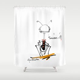 haritsadee 17 Shower Curtain