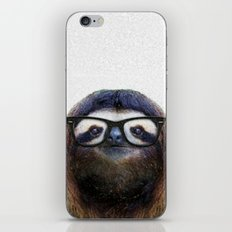 Hipster Sloth iPhone & iPod Skin