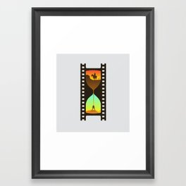 Movie Time Framed Art Print