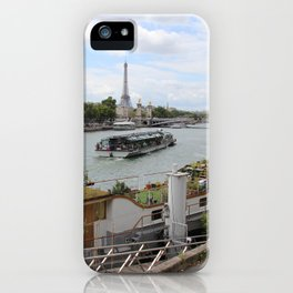 An Eiffel from the Seine iPhone Case