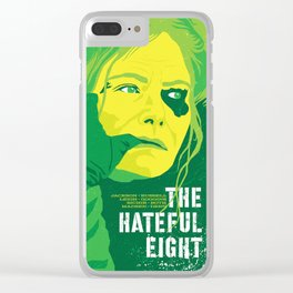 Quentin Tarantino's Plot Movers :: The Hateful Eight Clear iPhone Case