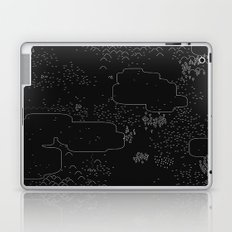 land of 15 towns and a cemetary · negative ⎌ Laptop & iPad Skin