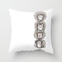 Hedgehog Totem Throw Pillow